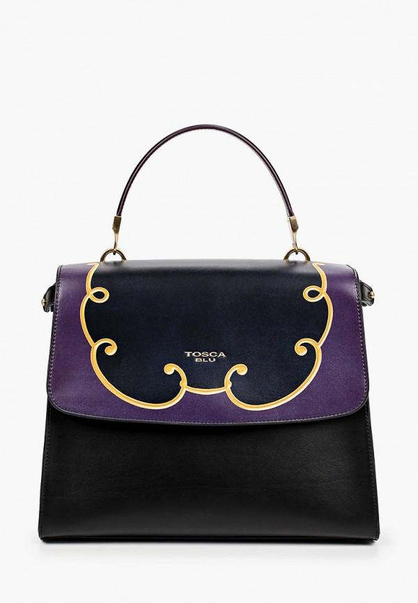 женская сумка с ручками tosca blu, разноцветная