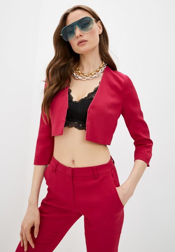 женское болеро twinset milano, розовое