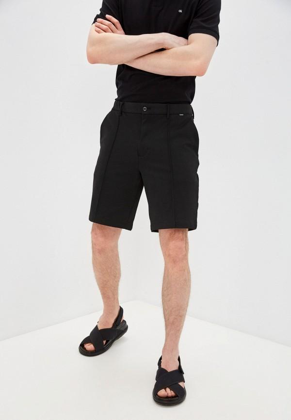 мужские повседневные шорты calvin klein, черные