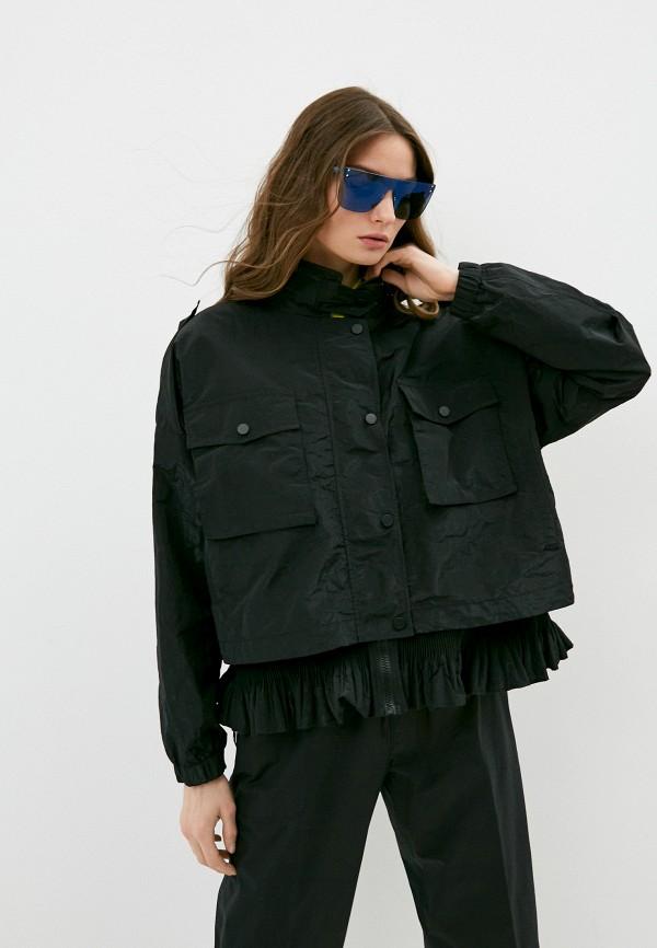 женская легкие куртка seventy, черная