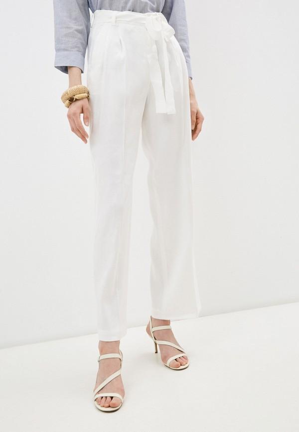 женские повседневные брюки seventy, белые