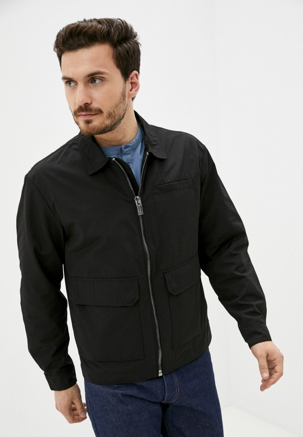 мужская легкие куртка finn flare, черная