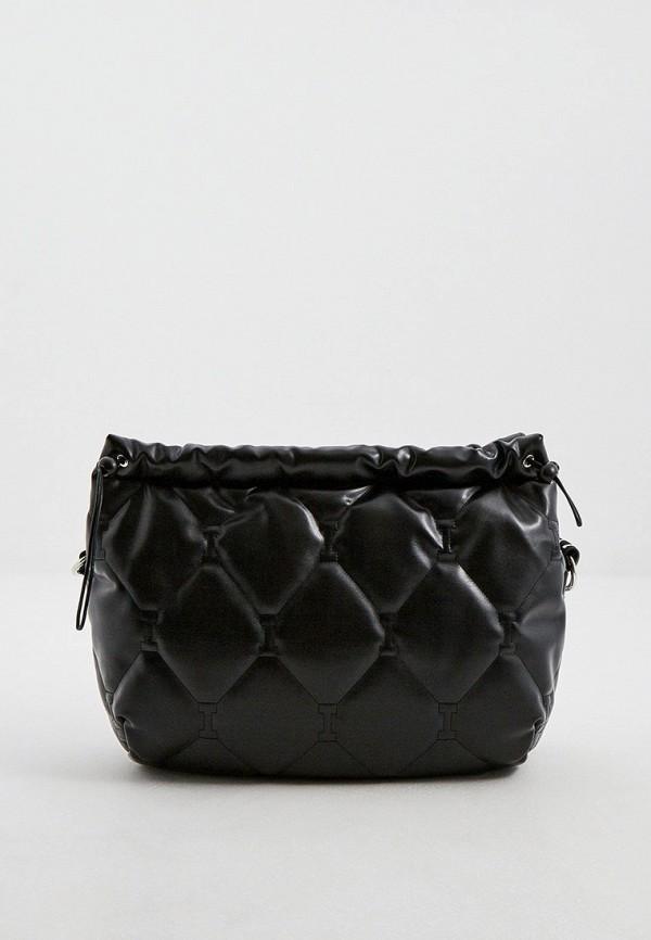 женская сумка с ручками iceberg, черная