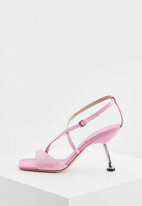 женские босоножки sportmax, розовые
