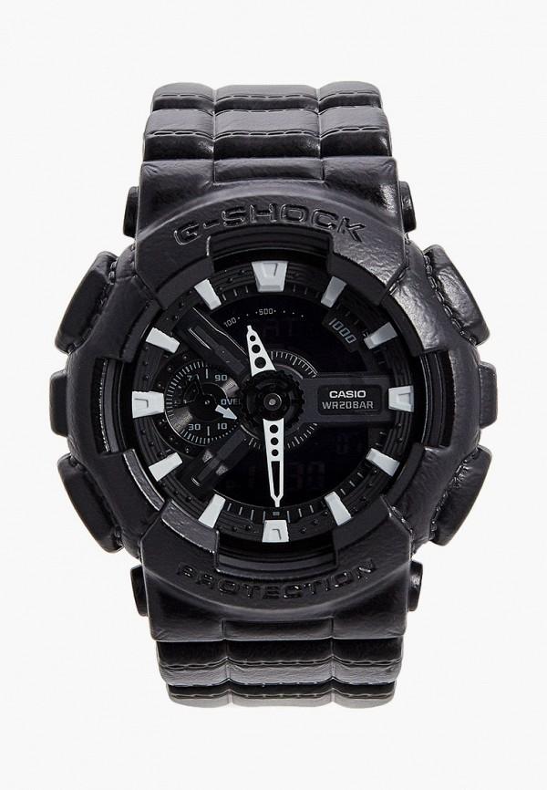 женские часы casio, черные