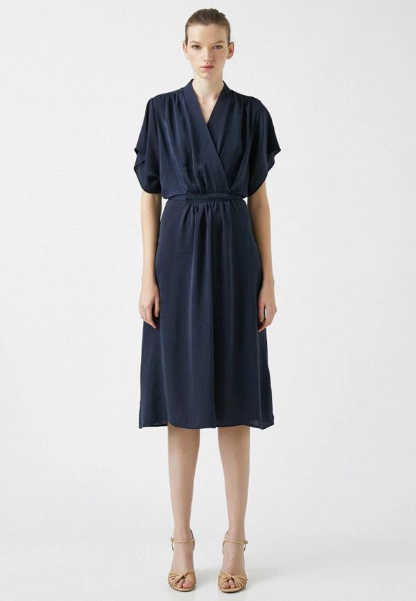 женское повседневные платье koton, синее