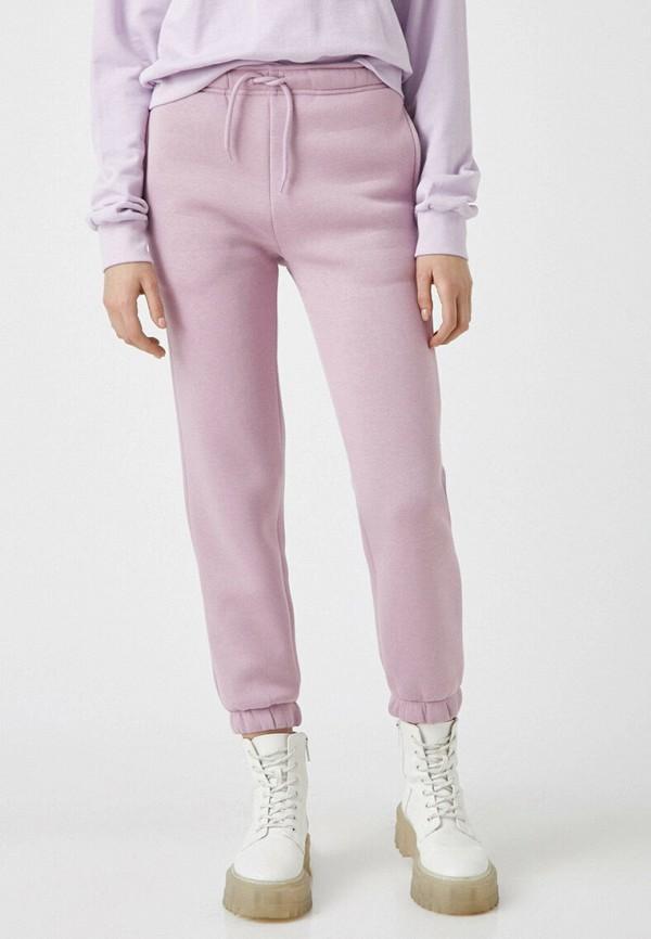 женские спортивные брюки koton, фиолетовые