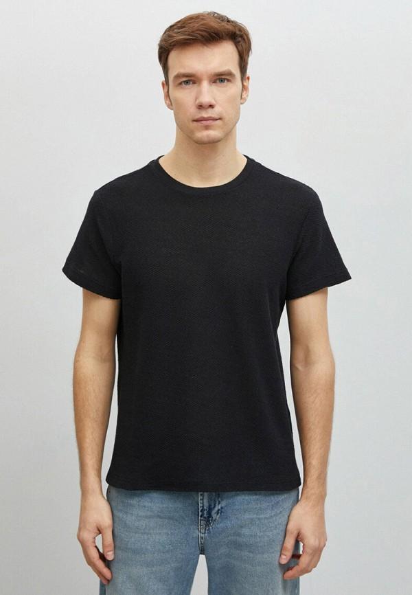 мужская футболка с коротким рукавом koton, черная