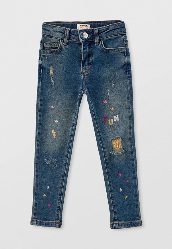 джинсы koton для девочки, синие