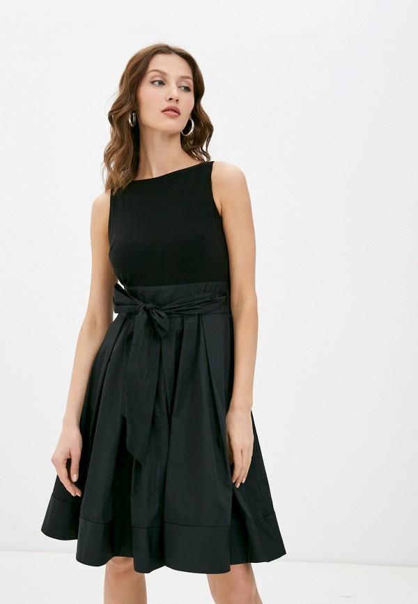 женское платье lauren ralph lauren, черное