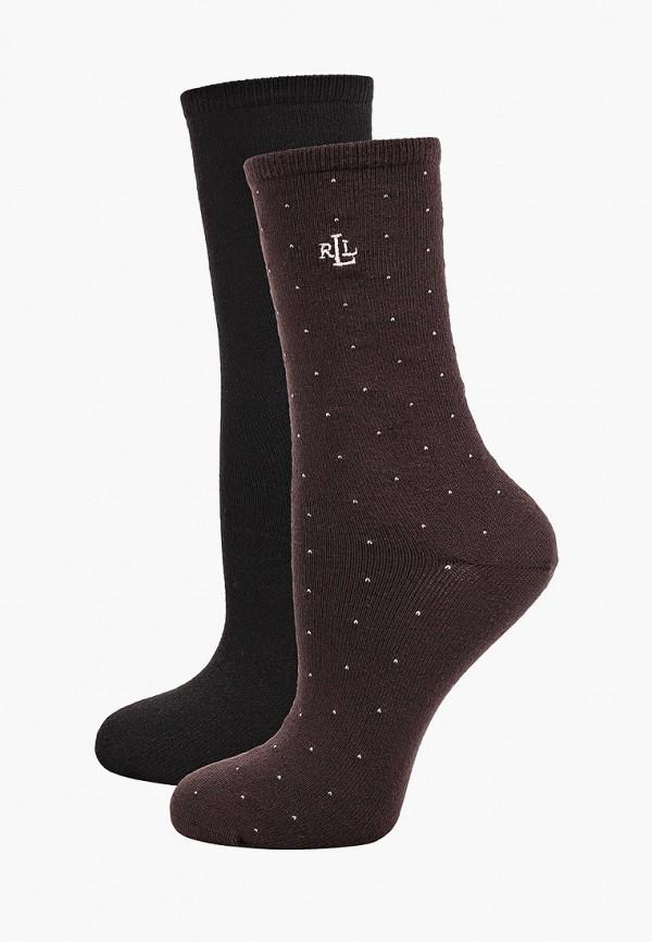 женские носки lauren ralph lauren, разноцветные
