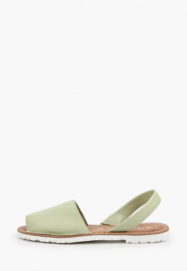 женские сандалии tamaris, зеленые