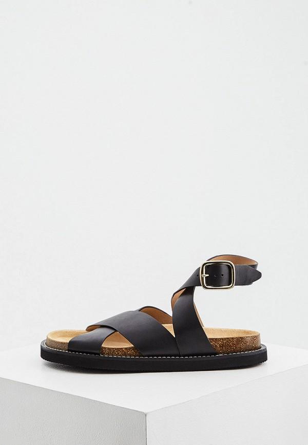 женские сандалии joseph, черные