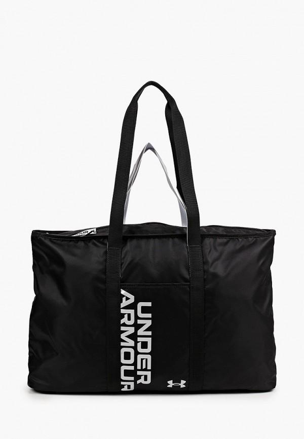 женская сумка-шоперы under armour, черная