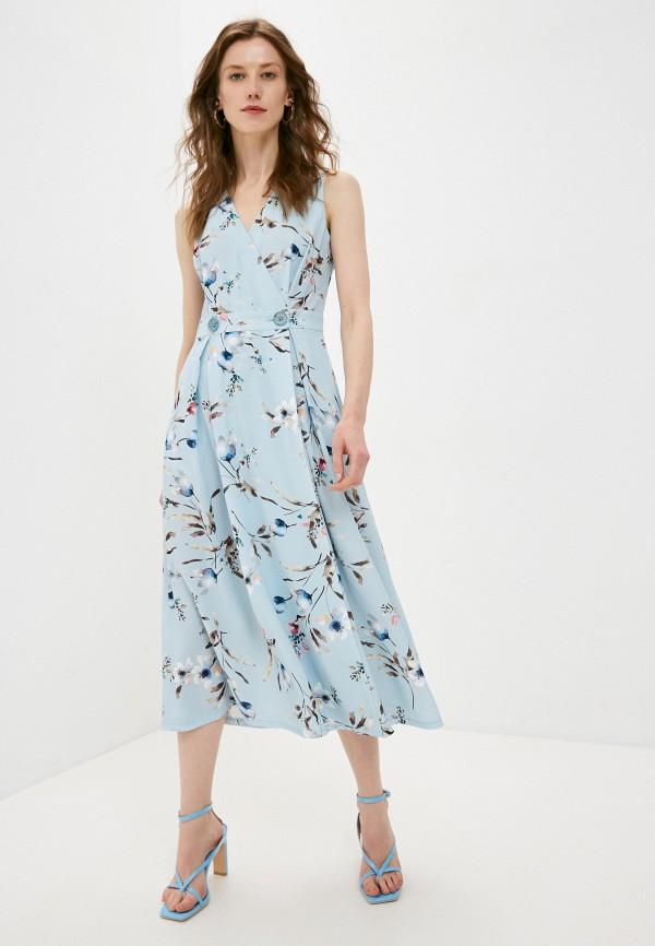 женское платье shartrez, голубое
