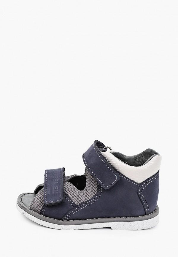 сандалии лель для мальчика, синие