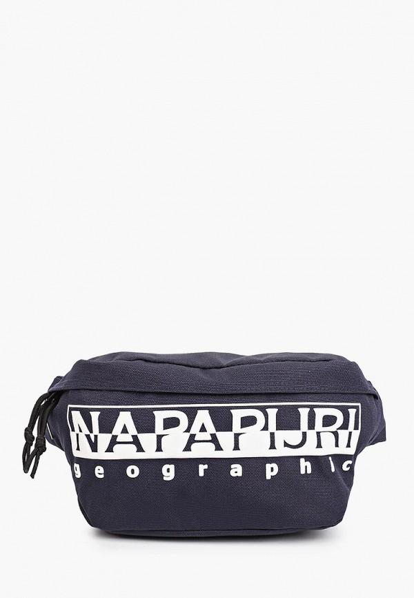 женская поясные сумка napapijri, синяя