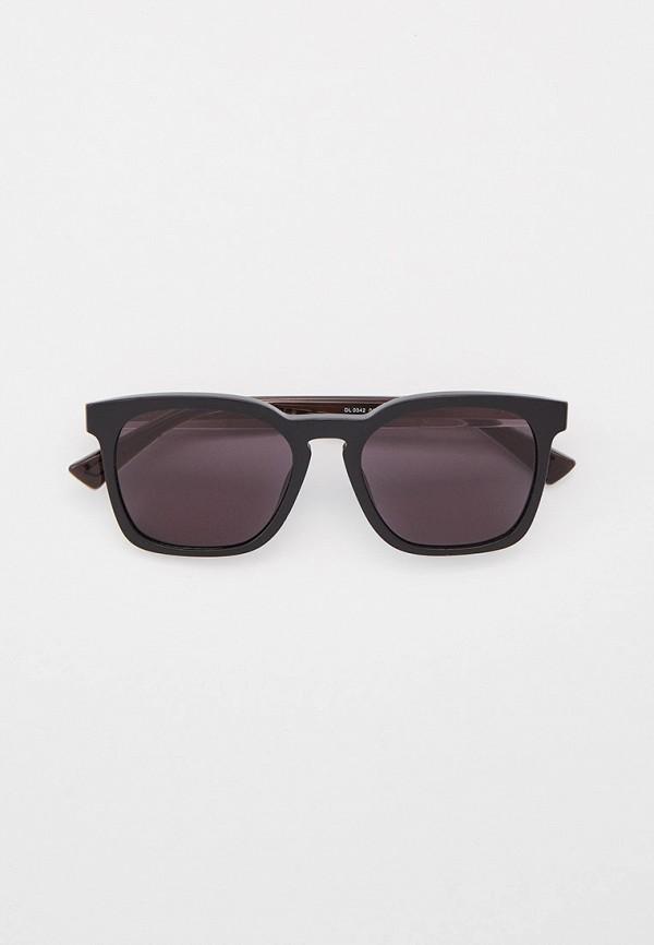 женские квадратные солнцезащитные очки diesel, черные