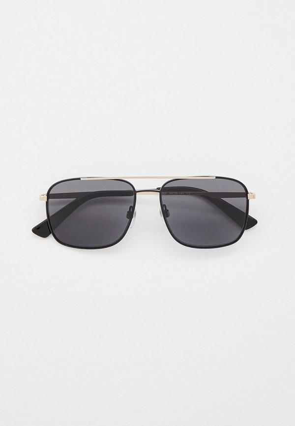 мужские квадратные солнцезащитные очки diesel, золотые
