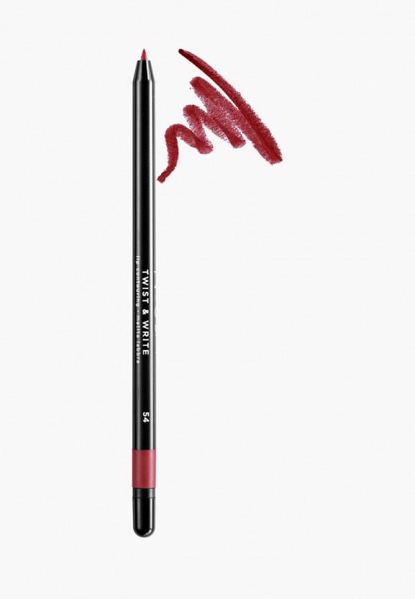 женский карандаш для губ nouba, бордовый