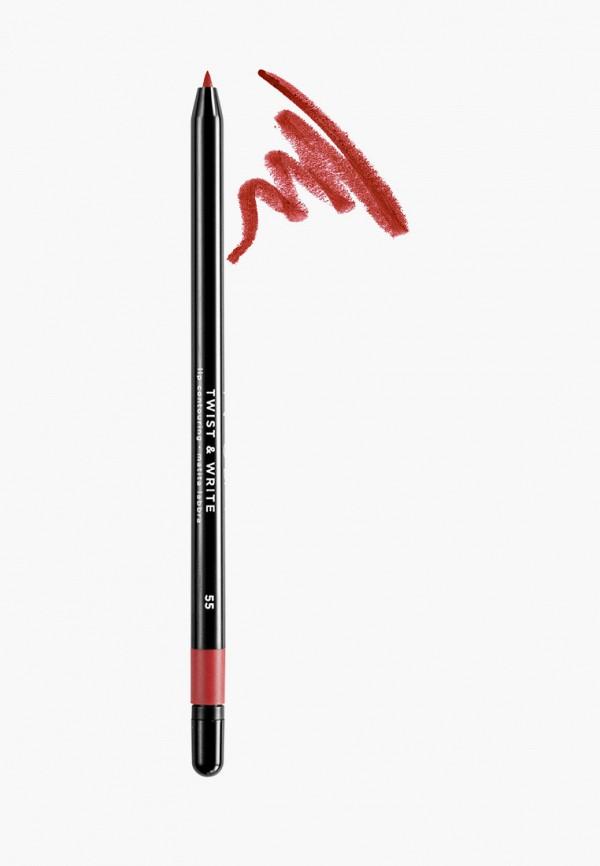 женский карандаш для губ nouba, розовый