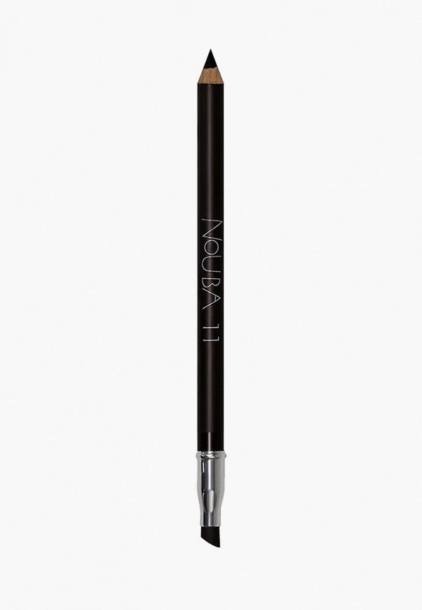 женский карандаш для глаз nouba, коричневый