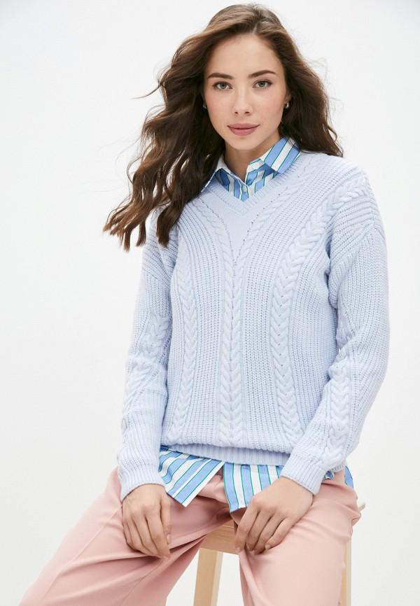 женский пуловер auden cavill, голубой