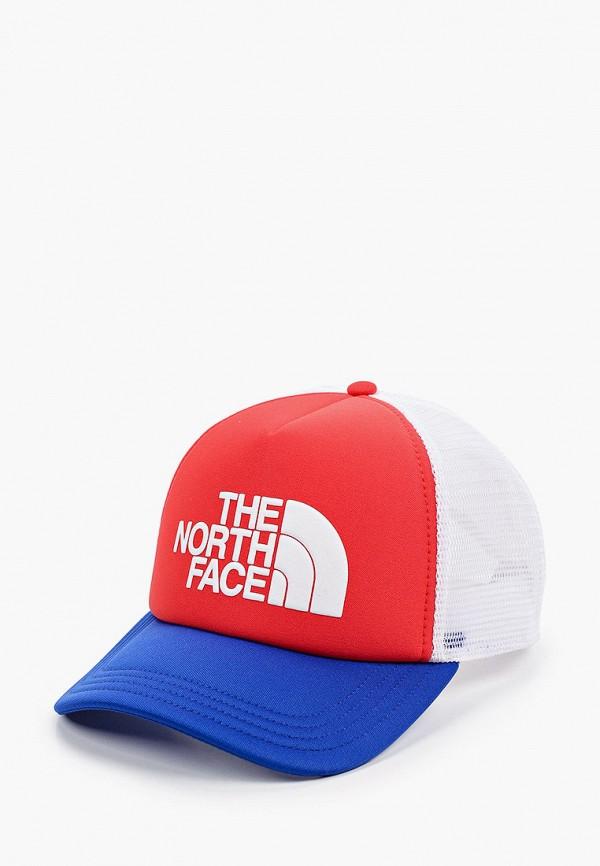 женская бейсболка the north face, разноцветная