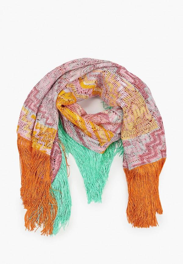 женский платок missoni, разноцветный