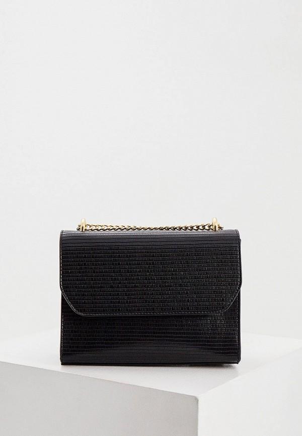 женская сумка через плечо pennyblack, черная