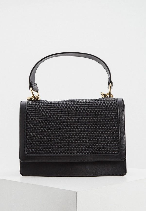 женская сумка с ручками pennyblack, черная