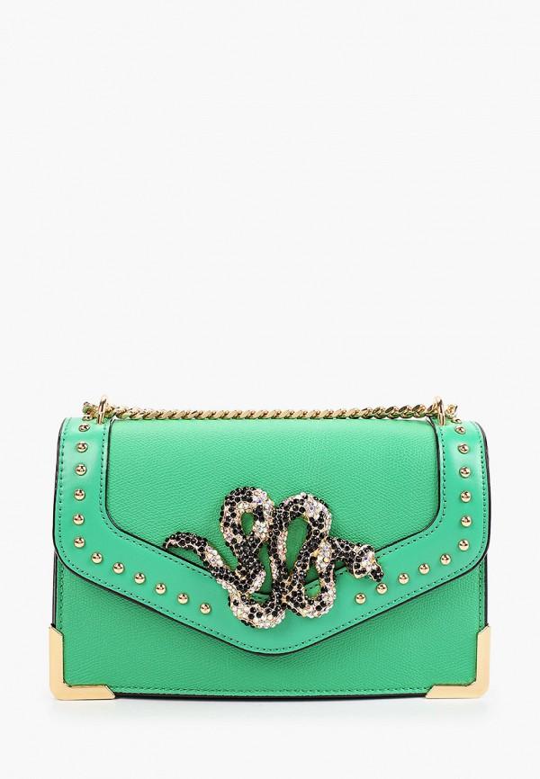 женская сумка через плечо aldo, зеленая