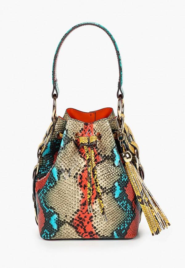 женская сумка-ведро aldo, разноцветная