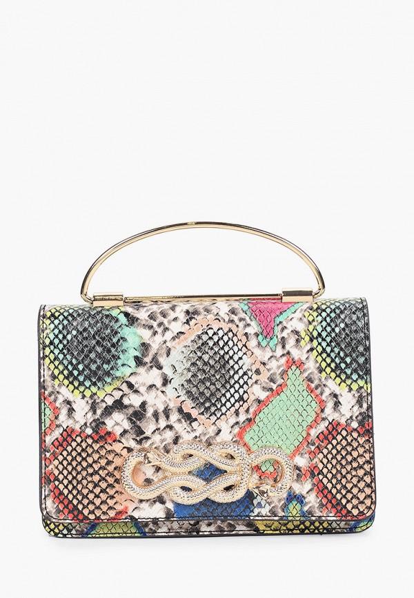 женская сумка с ручками aldo, разноцветная