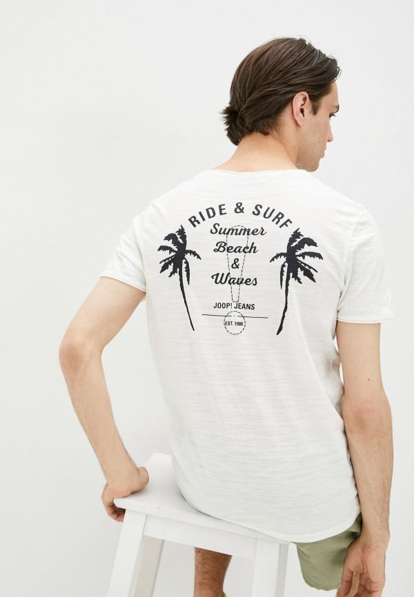 мужская футболка с коротким рукавом joop!, белая