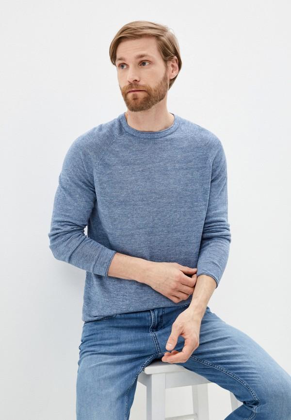 мужской джемпер strellson, голубой