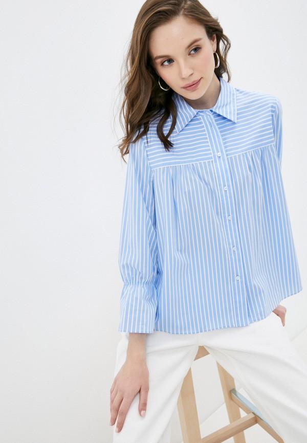 женская блузка с длинным рукавом joop!, голубая