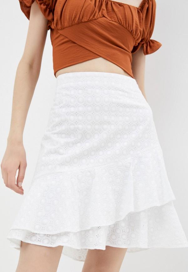женская прямые юбка joop!, белая