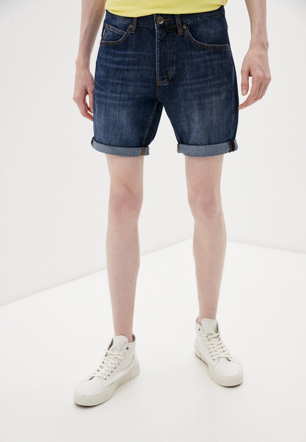 мужские джинсовые шорты strellson, синие