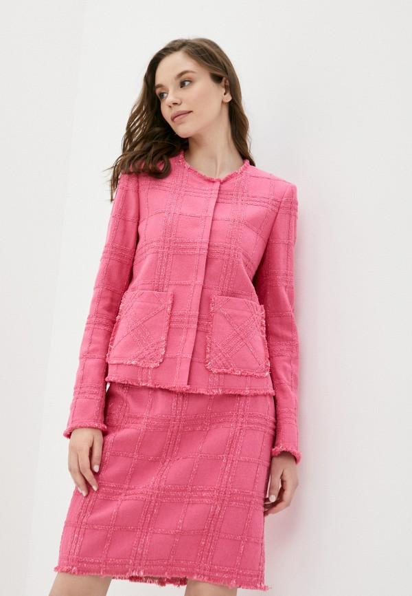 женский жакет joop!, розовый