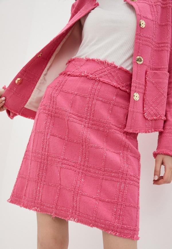 женская прямые юбка joop!, розовая