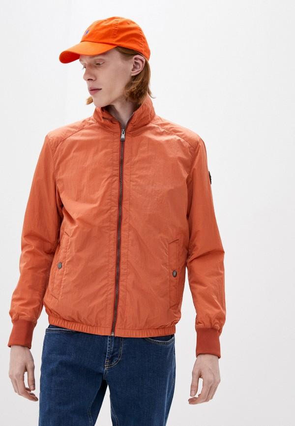 мужская утепленные куртка joop!, оранжевая