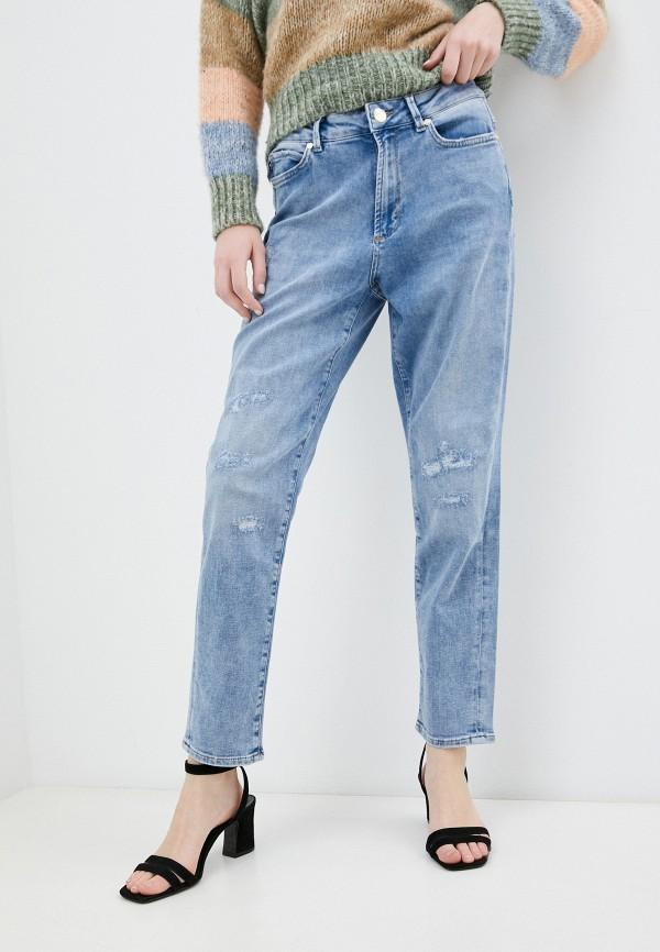 женские джинсы-мом joop!, синие