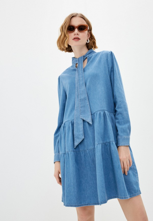 женское джинсовые платье joop!, голубое