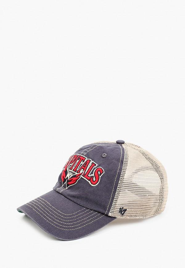 женская бейсболка '47 brand, синяя