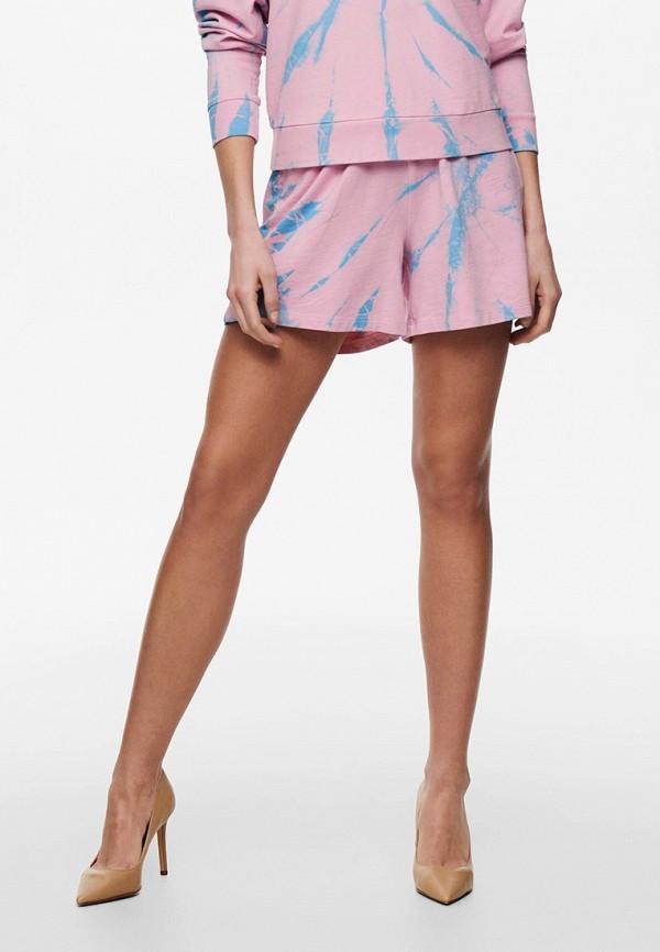 женские повседневные шорты only, розовые