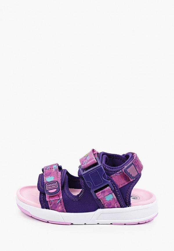 сандалии pablosky для девочки, фиолетовые