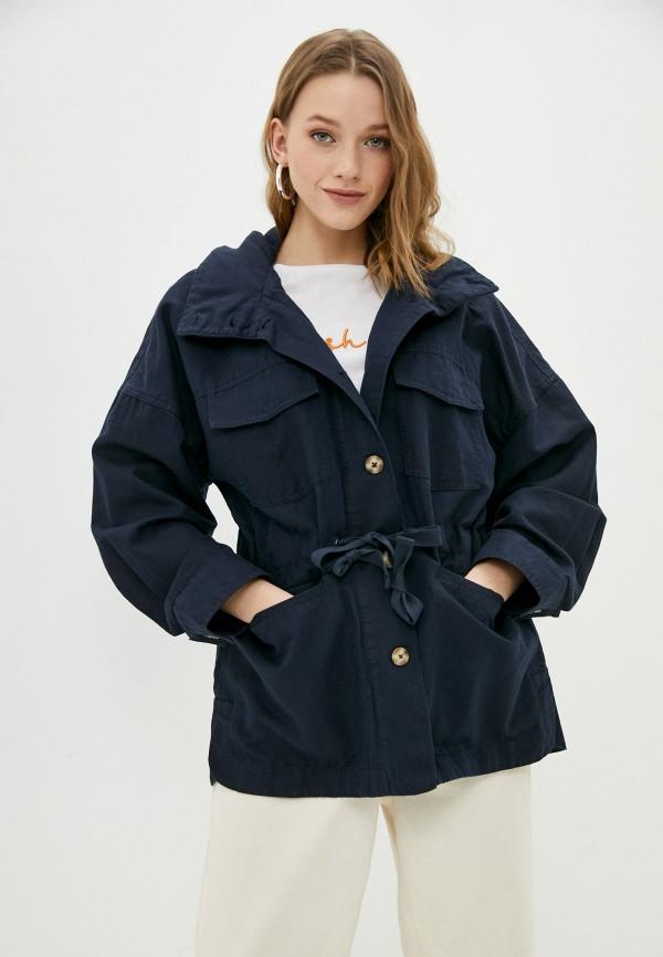 женская легкие куртка gant, синяя