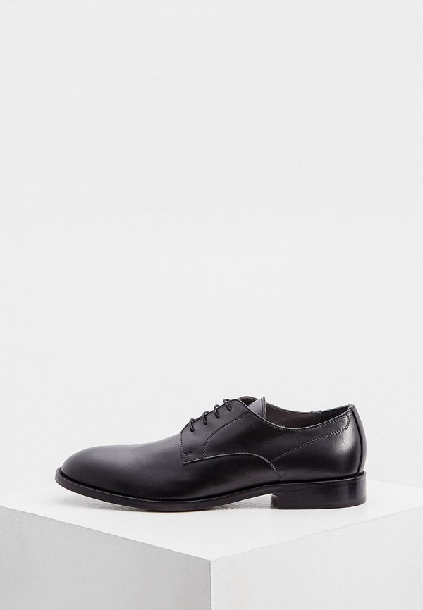 мужские туфли pollini, черные
