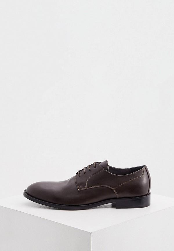 мужские туфли pollini, коричневые